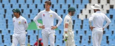 دوسرے دن کا کھیل ختم : جنوبی افریقہ کو پاکستان پر 205 رنز کی برتری