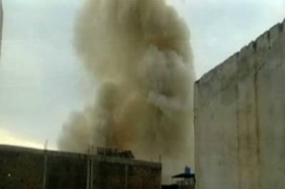 پشاور، کالی باڑی میں دھماکے میں 2 خواتین سمیت 6 افراد زخمی
