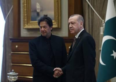 ترک صدر نے پاکستان سے جنگی طیارے خریدنے کا اظہار کر دیا