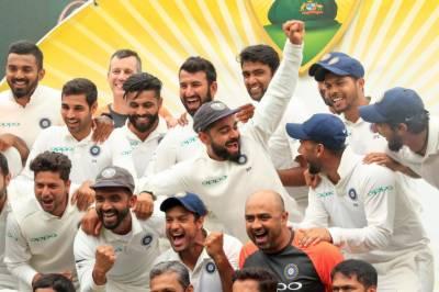 بھارت نے 71 سال بعد آسٹریلیا سے اس کی سرزمین پر ٹیسٹ سیریز جیت لی