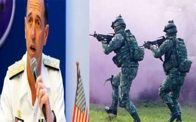 امریکہ نے تائیوان میں مداخلت کی تو دفاع کے لیے ہر قدم اٹھائیں گے : چینی کمانڈر