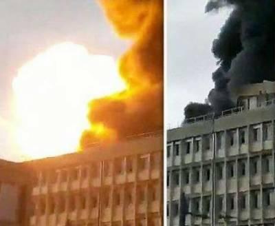 فرانس کی لائیون یونیورسٹی میں زور دار دھماکہ
