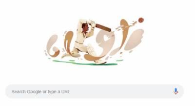 گوگل کا پاکستان کرکٹ ٹیم کے پہلے کپتان عبدالحفیظ کاردار کو خراج عقیدت