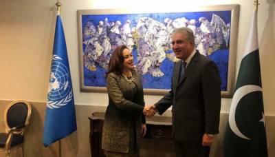 ماریہ اسپینوزا کی پاکستان آمد، وزیر خارجہ سے ملاقات