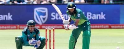 جنوبی افریقہ کا پاکستان کو جیت کیلئے 267 رنز کا ہدف