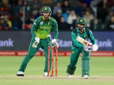 پاکستان نے جنوبی افریقہ کو پہلے میچ میں 5 وکٹوں سے شکست دیدی