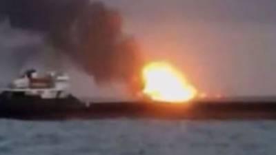 بحر اسود میں 2 کارگو جہازوں میں آگ لگ گئی، 14 افراد ہلاک