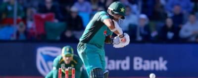 دوسرا ون ڈے : پاکستان کا ٹاپ آرڈر پر فلاپ ،107 رنز پر 7 وکٹیں گنوا دیں
