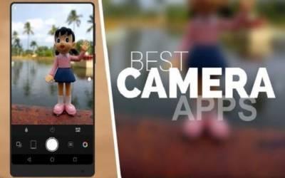 انڈرائیڈ صارفین میں انتہائی مقبول دس کیمرا ایپس کی تفصیلات جاری