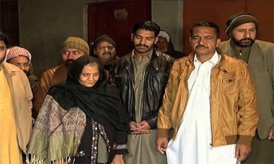 ذیشان کے اہلخانہ صدر مملکت سے ملاقات کیلئے اسلام آباد روانہ ہو گئے