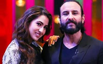 سیف علی خان نے اپنی بیٹی سارہ علی کے ساتھ کام کرنے کی خبروں کی تردید کر دی