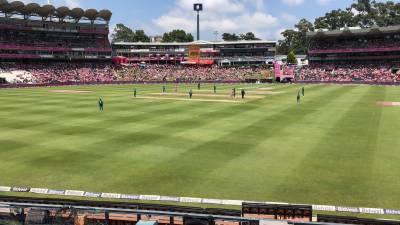 چوتھا ون ڈے،جنوبی افریقہ کی پاکستان کے خلاف بیٹنگ جاری