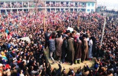 کشمیریوں سے اظہار یکجہتی کے لئے ''جاگ اٹھا کشمیر''کے نام سے خصوصی مہم کا آغاز