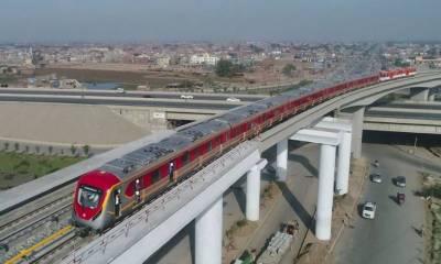 31 اگست تک اورنج ٹرین کا کام مکمل کر لیا جائے گا ، پنجاب حکومت