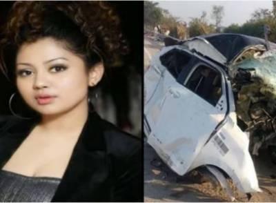 بھارتی گلوکارہ شیوانی بھاٹیا کار حادثے میں ہلاک