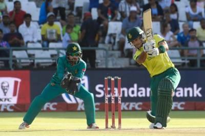 جنوبی افریقہ کا پہلے ٹی 20 میں پاکستان کو 193 رنز کا ہدف