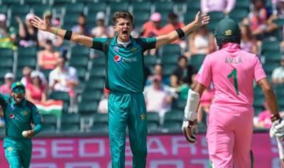 جنوبی افریقہ کا پاکستان کو جیت کیلئے 189رنز کا ہدف