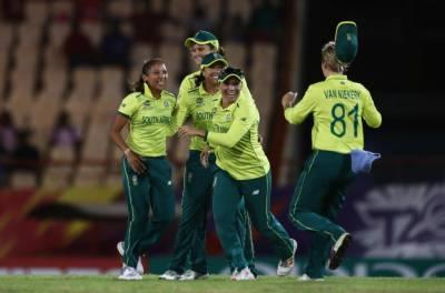 جنوبی افریقہ ویمنز نے سری لنکاکو آخری ٹی 20 میں شکست دیکر وائٹ واش کردیا
