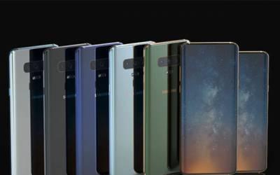 سام سنگ کے نئے فون ایس 10 کا ڈیزائن لیک