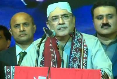 آصف علی زرداری کا ہیلی کاپٹر حادثے سے بال بال بچ گیا