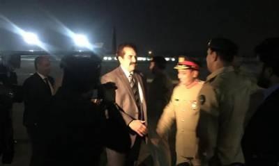 راحیل شریف کی قیادت میں اسلامی فوجی اتحاد کا وفد پاکستان پہنچ گیا