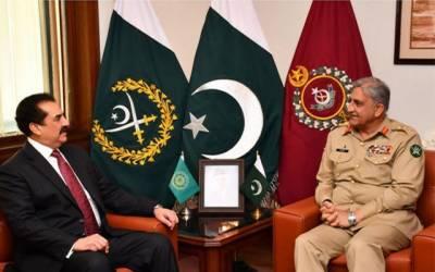 آرمی چیف سے اسلامی فوجی اتحاد کے سربراہ کی ملاقات