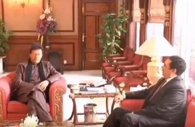 وزیراعظم عمران خان سے اسلامی فوجی اتحاد کے سربراہ کی ملاقات