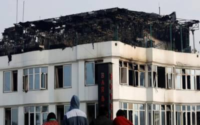 نئی دہلی کے ہوٹل میں آتشزدگی, اٹھارہ افراد ہلاک