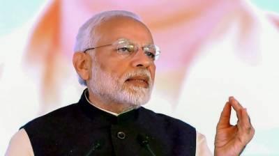 بھارتی وزیر اعظم نے ایک بار پھر پاکستان کیخلاف زہر اُگلنا شروع کر دیا