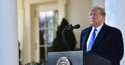 ایمرجنسی نافذ کرنے پر امریکہ کی 16 ریاستوں کا ڈونلڈ ٹرمپ کے خلاف مقدمہ