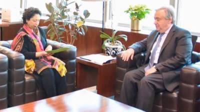 اقوام متحدہ پاک بھارت کشیدگی کم کرائے، ملیحہ لودھی کا مطالبہ