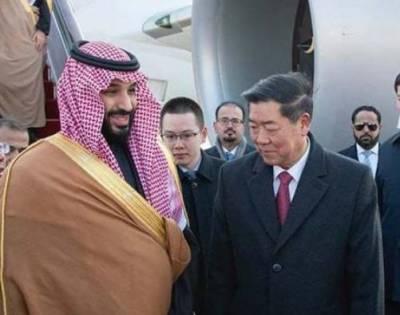 سعودی ولی عہد کا دورہ چین ، کوئی وزیر استقبال کو نہ آیا