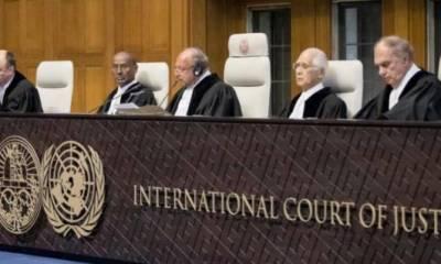 عالمی عدالت نے کلبھوشن کیس کا فیصلہ محفوظ کر لیا