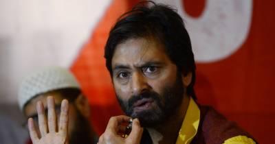 قابض بھارتی فوج نے حریت رہنما یاسین ملک کو گرفتار کر لیا