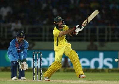 آسٹریلیا نے بھارت کو پہلے ٹی 20 میں 3 وکٹوں سے شکست دے دی