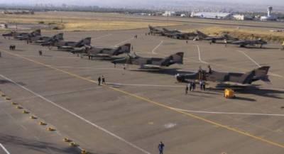 ایران نے پاکستانی سرحد کے ساتھ خطرناک جنگی طیارے تعینات کر دیئے