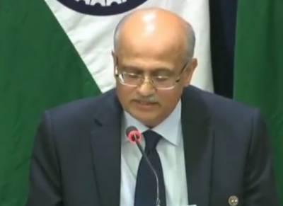 جس کیمپ کو نشانہ بنایا گیا وہ جیش محمد کے سربراہ مولانا مسعود اظہر کا بہنوئی چلاتا ہے ،بھارتی سیکریٹری خارجہ