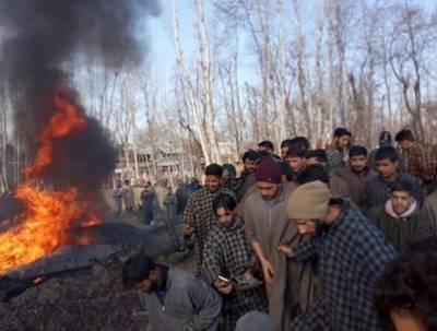 پاکستان کی حدود کی خلاف وزری، پاکستانی فضائیہ نے 2 بھارتی طیارے مار گرائے
