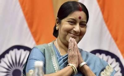 بھارت نے گھٹنے ٹیک دیئے، سشما سوراج کی کشیدگی کے خاتمے کی دُہائی