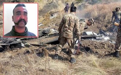 بھارت کا پاکستان سے اپنے پائلٹ کی بحفاظت وطن واپسی کا مطالبہ