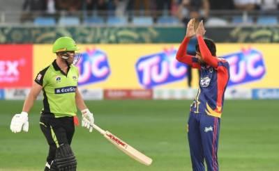 کراچی کنگز نے لاہور قلندرز کو 5 وکٹوں سے شکست دے دی