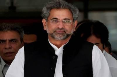 سپیکر قومی اسمبلی بتا دیں سعد رفیق کے پروڈکشن آرڈر جاری کرنے ہیں یا نہیں، شاہد خاقان عباسی