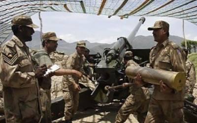 پاکستانی فوج کا ایل او سی پر دشمن کو کرارا جواب ، 8 بھارتی فوجی ہلاک ، 32 زخمی