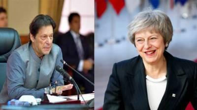وزیر اعظم عمران خان کا برطانوی وزیر اعظم تھریسامے سے ٹیلیفونک رابطہ