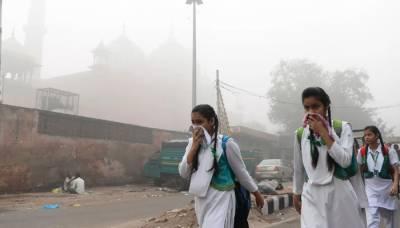 دنیا کے 30 آلودہ ترین شہروں میں سے 22 بھارتی شہر شامل