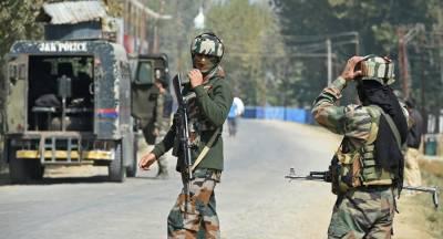 مقبوضہ کشمیر میں بھارتی فورسز نے 1 نوجوان کو شہید کر دیا