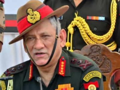 بھارتی فوج کسی بھی لڑائی کیلئے تیار ہے ،بھارتی آرمی چیف