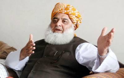 حکومت نے سی پیک منصوبہ ایک سال کیلئے روک دیا ہے: فضل الرحمن