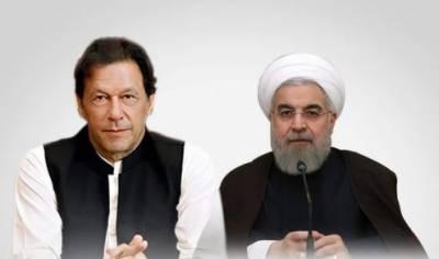 وزیراعظم اور ایرانی صد ر کا ٹیلیفونک رابطہ،عمران خان نے روحانی کو پاک بھارت کشیدگی امور پر اعتماد میں لیا