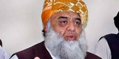 جعلی الیکشن سے آنے والے قوم کی نمائندگی کا حق نہیں رکھتے ،مولانا فضل الرحمن